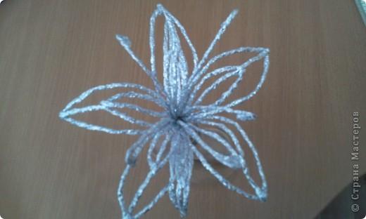Мастер-класс Плетение: МК лилии из фольги Фольга. Фото 31