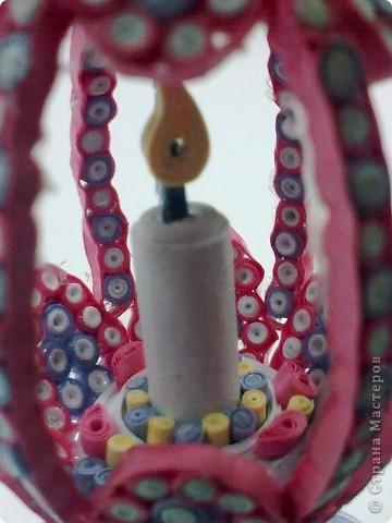 Поделка, изделие Квиллинг: Пасхальная поделка 3 Бумажные полосы, Проволока Пасха. Фото 4