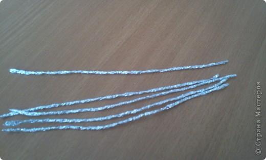 Мастер-класс Плетение: МК лилии из фольги Фольга. Фото 6