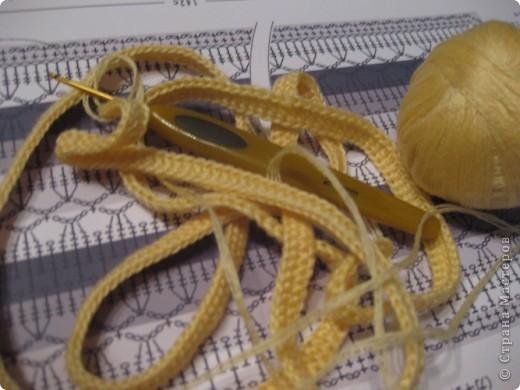 """衣柜钩针:设置""""柠檬水""""纱。 照片5"""