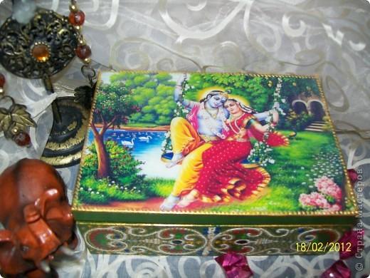 Декор предметов Декупаж: Немного Индийского Салфетки. Фото 2