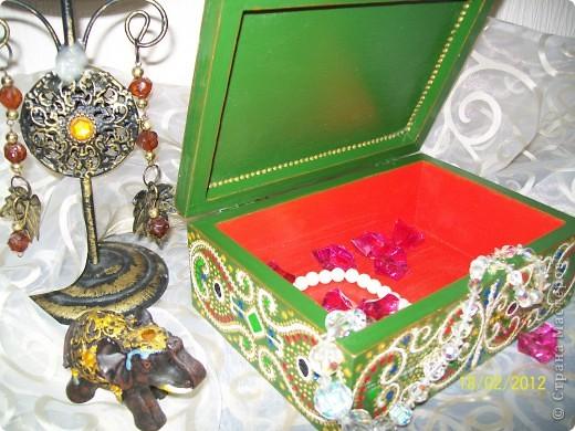 Декор предметов Декупаж: Немного Индийского Салфетки. Фото 4