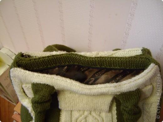 Гардероб Вязание спицами: Мастер-класс сумка с аранами Пряжа.  Фото 2.