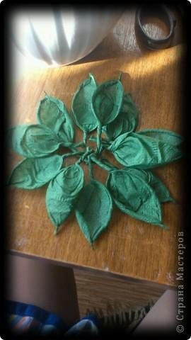 Мастер-класс, Поделка, изделие Бумагопластика, Моделирование, Оригами: МК часть2 Деревце из роз Клей, Материал природный, Салфетки. Фото 5