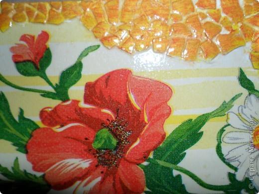 Картина, панно, Поделка, изделие Декупаж, Роспись: Ключницы. Гуашь, Салфетки, Скорлупа яичная, Фанера. Фото 9
