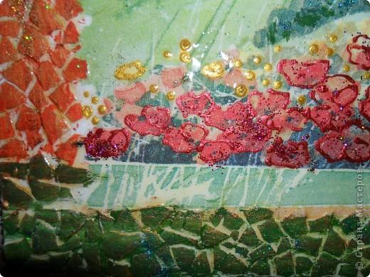 Картина, панно, Поделка, изделие Декупаж, Роспись: Ключницы. Гуашь, Салфетки, Скорлупа яичная, Фанера. Фото 12