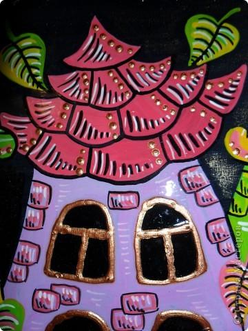 Картина, панно, Поделка, изделие Декупаж, Роспись: Ключницы. Гуашь, Салфетки, Скорлупа яичная, Фанера. Фото 5