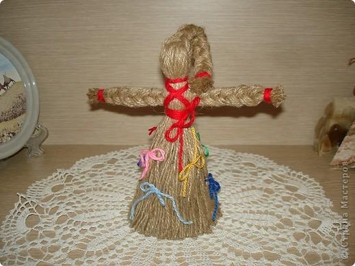 Сделать куклу из ниток
