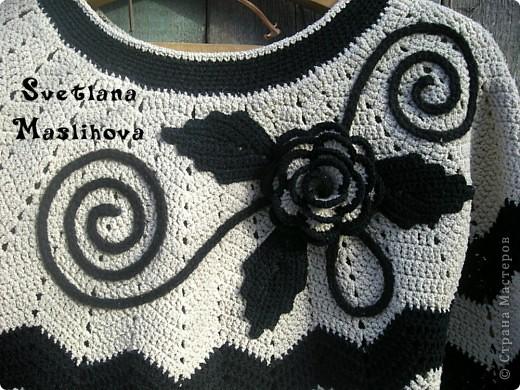 Гардероб Вязание, Вязание крючком: Платье в стиле Миссони для себя. Пряжа. Фото 1