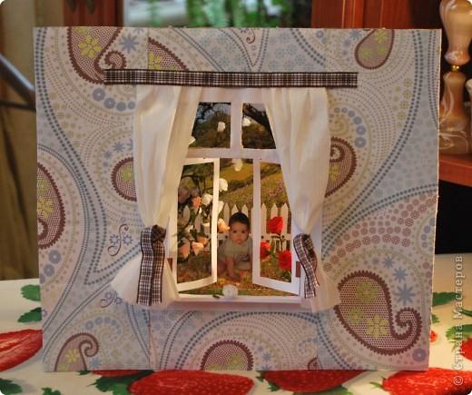 Картина, рисунок, панно Бумагопластика, Бумажный туннель, Квиллинг: Домик Бумага, Бумага гофрированная, Картон День рождения. Фото 2