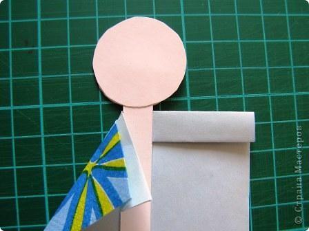 Куклы, Мастер-класс Моделирование: Как сделать бумажную японскую куколку Бумага. Фото 6