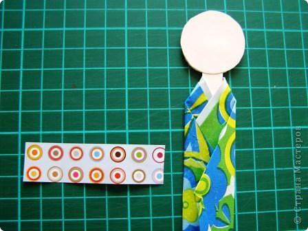 Куклы, Мастер-класс Моделирование: Как сделать бумажную японскую куколку Бумага. Фото 10