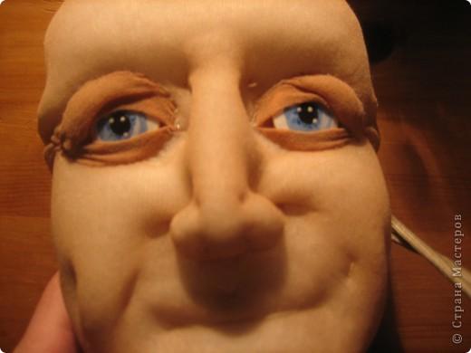 """Мастер-класс Шитьё: МК по """"живым"""" векам для куклы и мини МК по росписи глаз Капрон. Фото 14"""