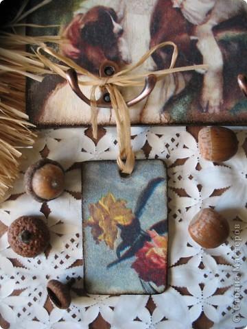 Декор предметов Декупаж: Ключница-оберег Салфетки. Фото 6