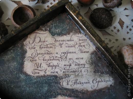 Декор предметов Декупаж: Ключница-оберег Салфетки. Фото 4
