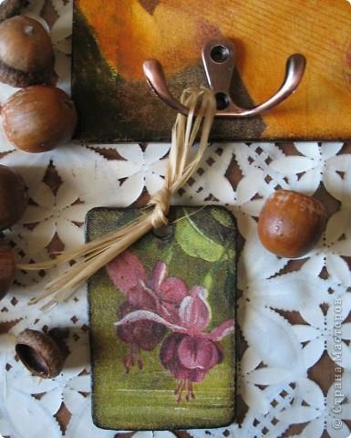 Декор предметов Декупаж: Ключница-оберег Салфетки. Фото 9