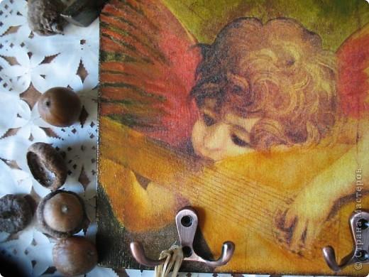 Декор предметов Декупаж: Ключница-оберег Салфетки. Фото 8