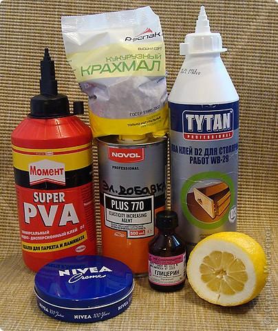 Материалы и инструменты Лепка: Все клеи ПВА для ХФ Фарфор холодный. Фото 6