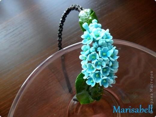 Флористика Лепка: Сирень Фарфор холодный. Фото 12