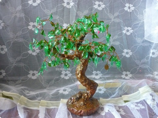 Дерево из пластики своими руками