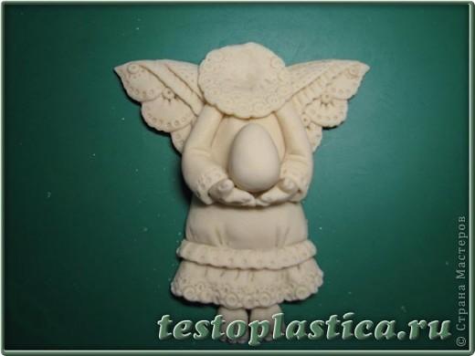 Мастер-класс, Поделка, изделие Лепка: Пасхальное украшение из соленого теста Тесто соленое Пасха. Фото 6