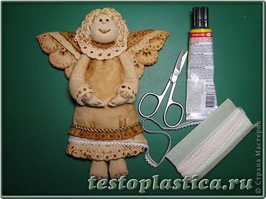 Мастер-класс, Поделка, изделие Лепка: Пасхальное украшение из соленого теста Тесто соленое Пасха. Фото 8