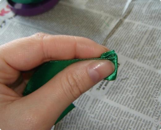 Мастер-класс Торцевание: Быстрый способ делать торцовки из лент Ленты. Фото 2