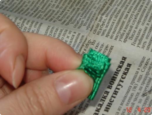 Мастер-класс Торцевание: Быстрый способ делать торцовки из лент Ленты. Фото 3