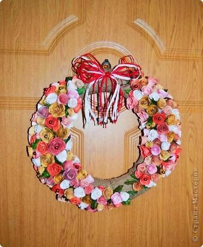 Мастер-класс, Поделка, изделие Торцевание: Миллион бумажных роз.... Бумага, Гуашь. Фото 1