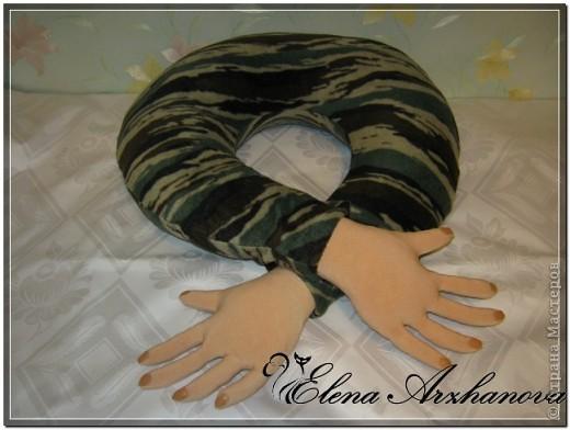 Мастер-класс Шитьё: Обещание выполняю: МК подушки-путешественницы! Отдых. Фото 1