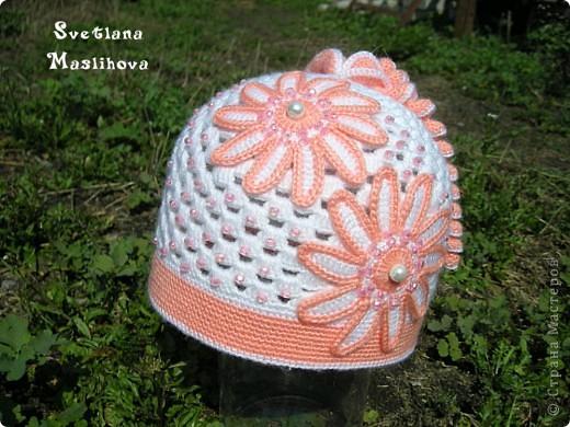 Гардероб Вязание крючком: Просто весенняя шапочка. Пряжа. Фото 4