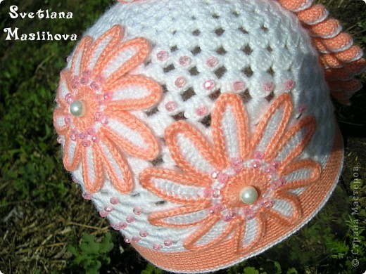 Гардероб Вязание крючком: Просто весенняя шапочка. Пряжа. Фото 2