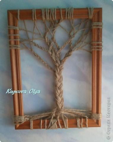 Картины из верёвки своими руками