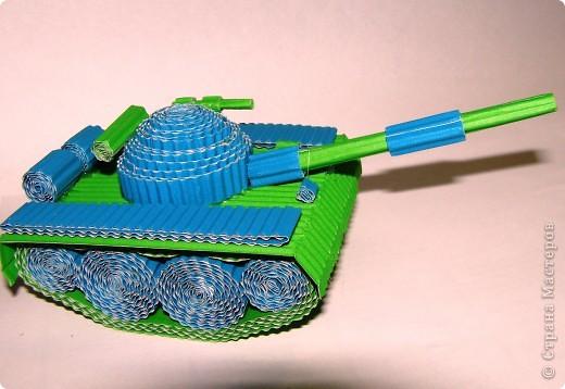 Своими руками поделки танков