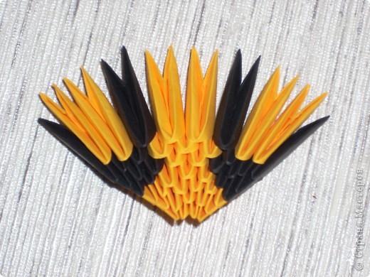 Мастер-класс Оригами модульное: Кот Рыжик Бумага.  Фото 24.