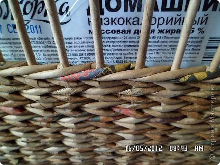 Мастер-класс, Поделка, изделие Плетение: Коробочка +мк загибки Бумага. Фото 2