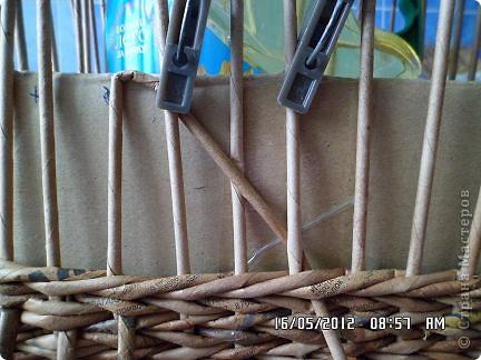 Мастер-класс, Поделка, изделие Плетение: Коробочка +мк загибки Бумага. Фото 3
