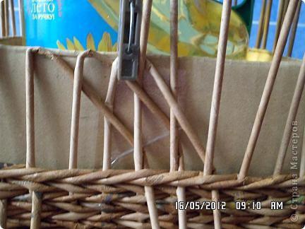 Мастер-класс, Поделка, изделие Плетение: Коробочка +мк загибки Бумага. Фото 5