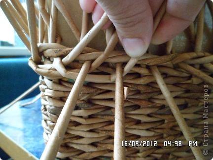 Мастер-класс, Поделка, изделие Плетение: Коробочка +мк загибки Бумага. Фото 7