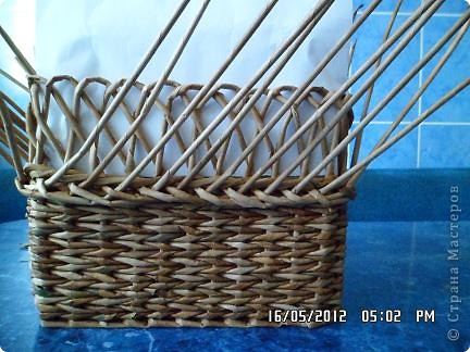 Мастер-класс, Поделка, изделие Плетение: Коробочка +мк загибки Бумага. Фото 8