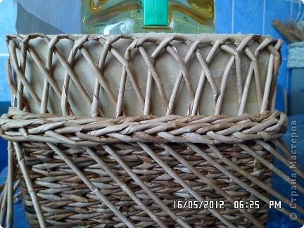 Мастер-класс, Поделка, изделие Плетение: Коробочка +мк загибки Бумага. Фото 12