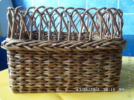 Мастер-класс, Поделка, изделие Плетение: Коробочка +мк загибки Бумага. Фото 13