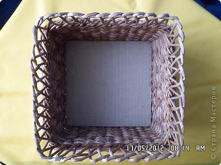 Мастер-класс, Поделка, изделие Плетение: Коробочка +мк загибки Бумага. Фото 14