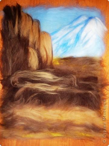 Мастер-класс Валяние (фильцевание): Водопад из шерсти Шерсть. Фото 7