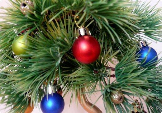 Бонсай, топиарий, Мастер-класс Моделирование: Новогодний бонсай Гипс, Дерево, Шишки Новый год, Рождество. Фото 9