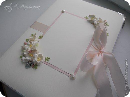 Открытка Свадьба Ассамбляж Открытка и Альбом на Свадьбу Бумага фото 6