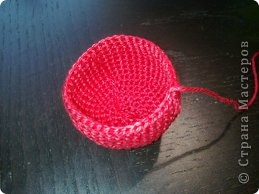 Мастер-класс Вязание крючком: к дню Святого Валентина Нитки Валентинов день. Фото 4
