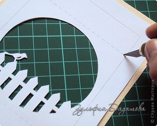 Мастер-класс, Поделка, изделие Бумажный туннель, Вырезание: Кубы-туннели Бумага. Фото 6