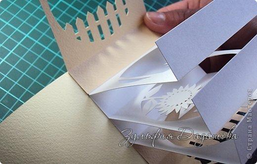 Мастер-класс, Поделка, изделие Бумажный туннель, Вырезание: Кубы-туннели Бумага. Фото 11