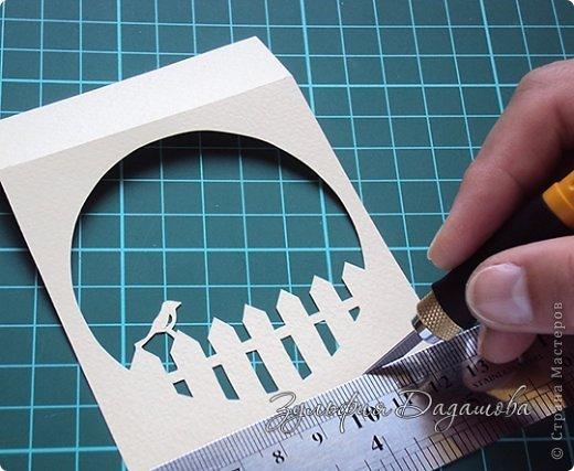 Мастер-класс, Поделка, изделие Бумажный туннель, Вырезание: Кубы-туннели Бумага. Фото 8